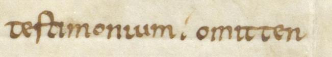 Codex Fulda. Aa 11 ( 3 ) Folio 257