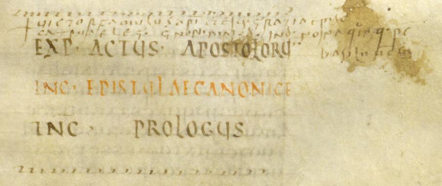 Codex Fuldensis ( 1 ) Folio 871
