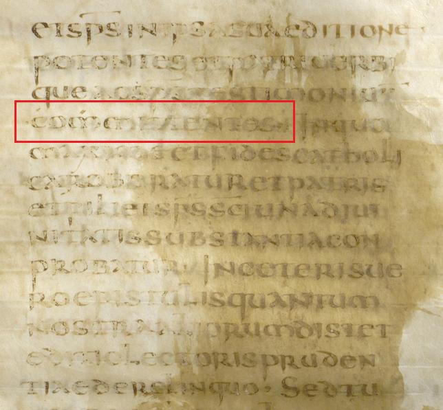 Codex Fuldensis ( 2a ) Folio 871