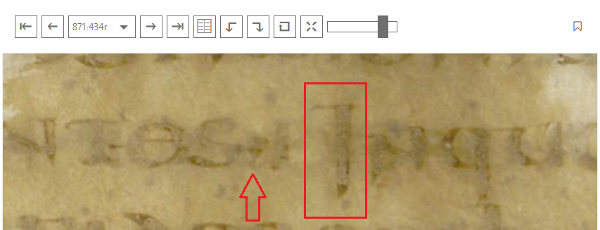 Codex Fuldensis ( 3c1 ) Folio 871