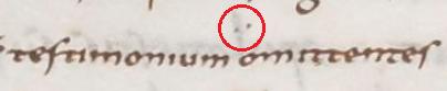 Codex Theodolphinus Folio 305r ( 8c ) Prol