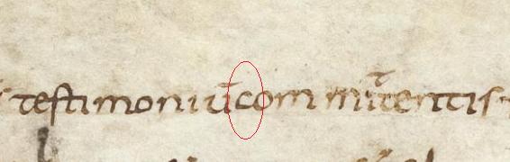 Karl. Bad. Landes. Aug. perg. 185 ( 2e ) Folio 77v - Copy