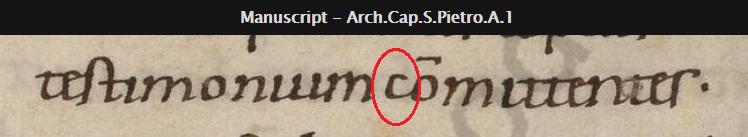 Vat Arch. Cap. S.Pietro. A.1 ( 3d ) Folio 373r